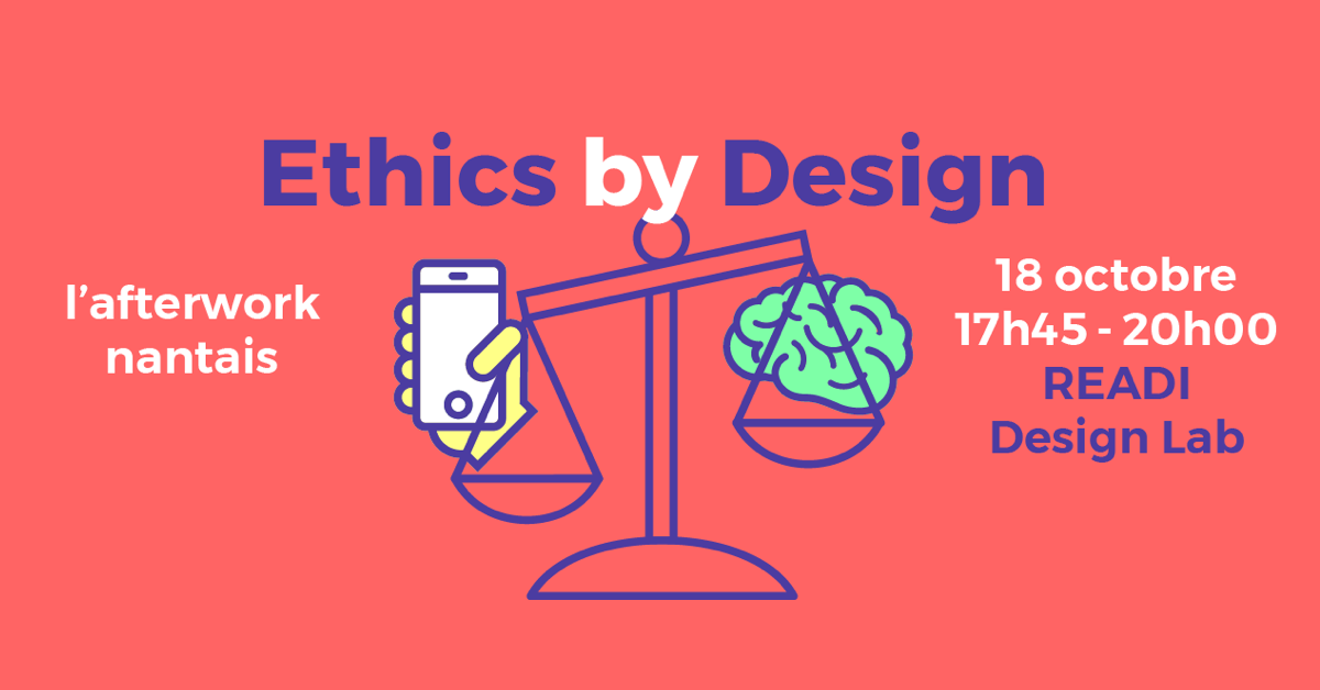 Image d'illustration de Afterwork Ethics by Design – Nantes